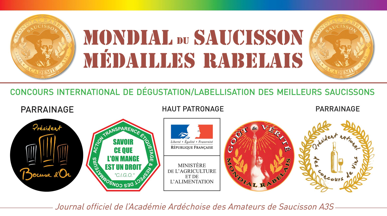 Mondial du Saucisson ° Médailles Rabelais